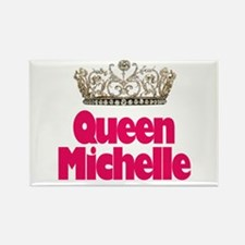 Queen Michelle Rectangle Magnet