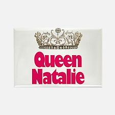 Queen Natalie Rectangle Magnet