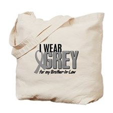 I Wear Grey For My Brother-In-Law 10 Tote Bag