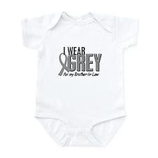 I Wear Grey For My Brother-In-Law 10 Infant Bodysu