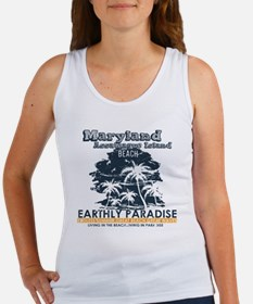 Cute Assateague island Women's Tank Top
