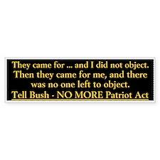 Anti Bush (Bumper)