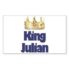 King Julian Rectangle Decal