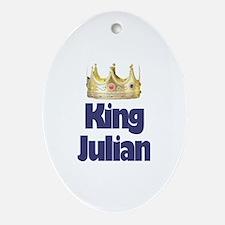 King Julian Oval Ornament