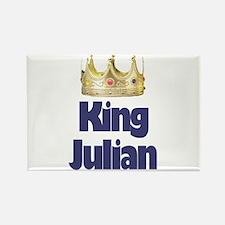 King Julian Rectangle Magnet