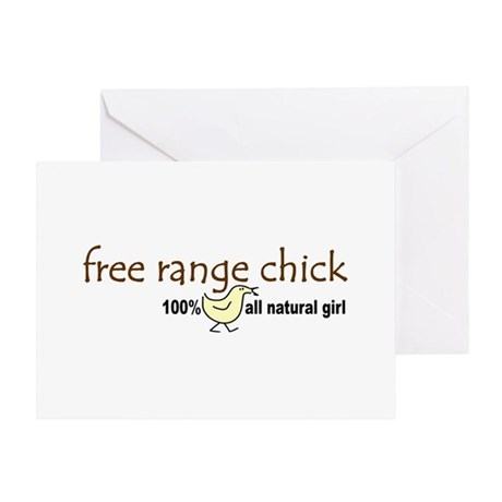 Free Range Chick (2008) Greeting Card