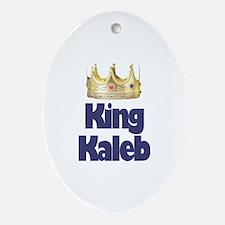 King Kaleb Oval Ornament