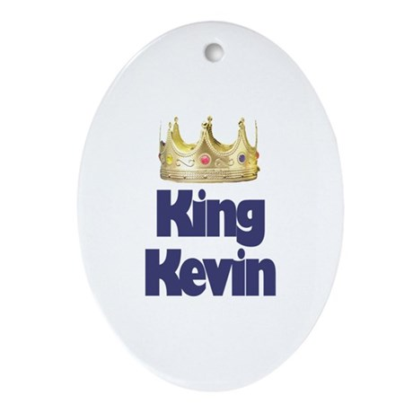 King Kevin Oval Ornament