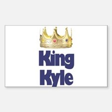 King Kyle Rectangle Decal