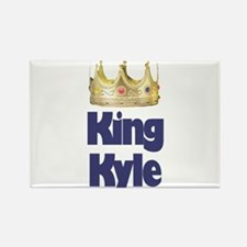 King Kyle Rectangle Magnet