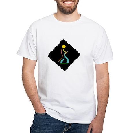 Hiker emblem White T-Shirt