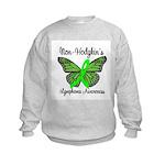 Non-Hodgkin's Awareness Kids Sweatshirt