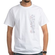 Beatmania IIDX chart uniform Shirt