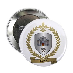 CLAUDE Family Crest Button