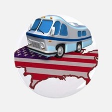 "RV Across America 3.5"" Button"