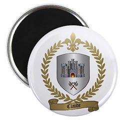 CLAUDE Family Crest Magnet