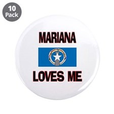 "Mariana Loves Me 3.5"" Button (10 pack)"