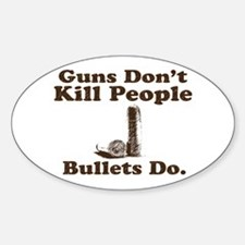 Bullets Oval Decal