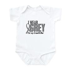 I Wear Grey For My Grandfather 10 Infant Bodysuit