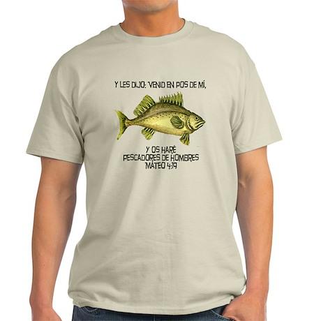 Matthew 4:19 Spanish Light T-Shirt