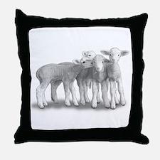 Cute Sheep Throw Pillow