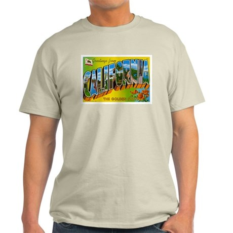 California CA Light T-Shirt