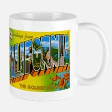 California CA Mug