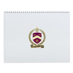 CLERMONT Family Crest Wall Calendar