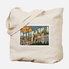 California CA Tote Bag