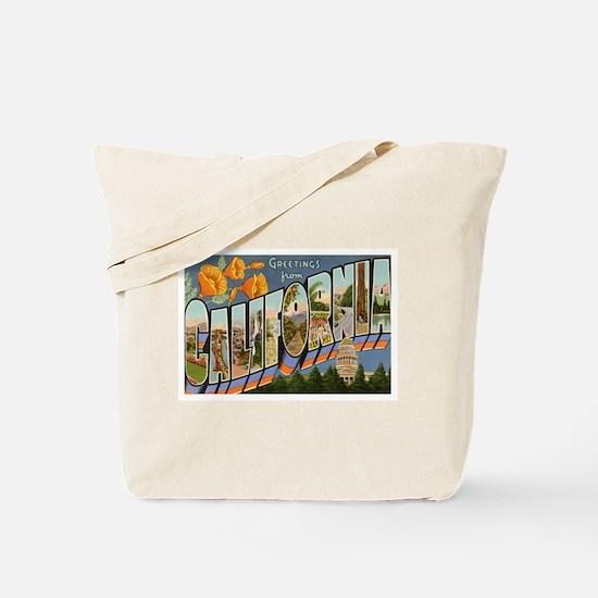 California CA Tote Bag