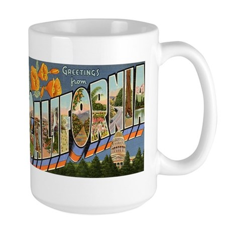 California CA Large Mug