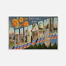 California CA Rectangle Magnet (100 pack)