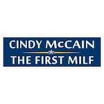 Cindy McCain: The First MILF Bumper Sticker