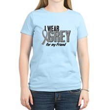 I Wear Grey For My Friend 10 T-Shirt