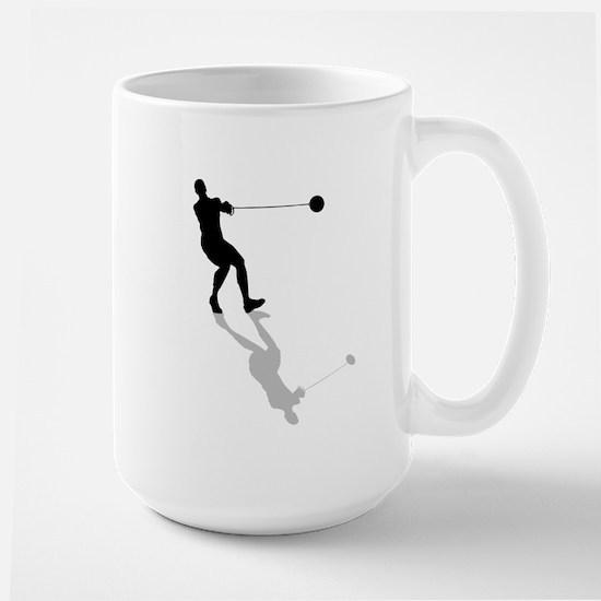 Hammer Throw Large Mug