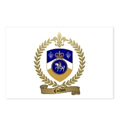 COCHON Family Crest Postcards (Package of 8)