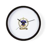 COCHON Family Crest Wall Clock