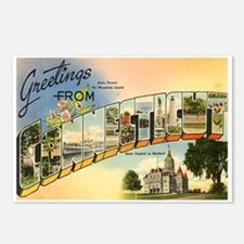 Connecticut CT Postcards (Package of 8)