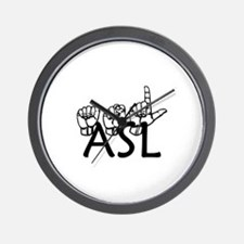 ASL Wall Clock