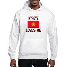 Kyrgyz Loves Me Hoodie