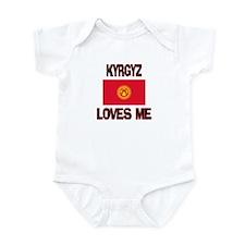 Kyrgyz Loves Me Infant Bodysuit
