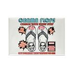 Obama flip flops Rectangle Magnet