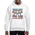 Obama flip flops Hooded Sweatshirt