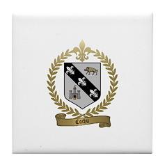 COCHU Family Crest Tile Coaster