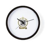 COCHU Family Crest Wall Clock