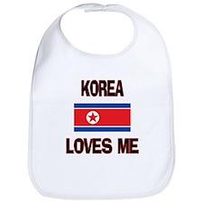 Korea Loves Me Bib