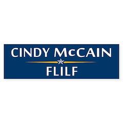 Cindy McCain FLIF Bumper Bumper Sticker
