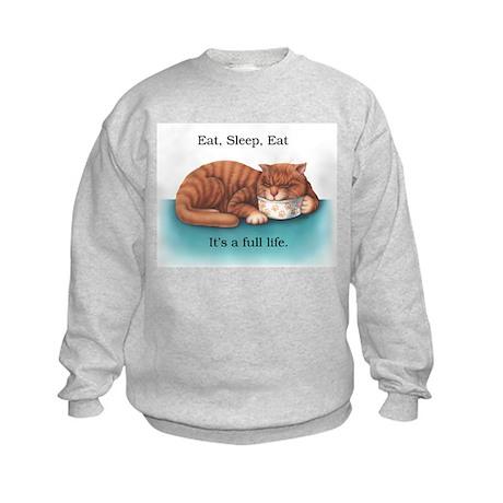 Eat Sleep Eat Kids Sweatshirt