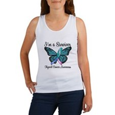Thyroid Cancer Survivor Women's Tank Top
