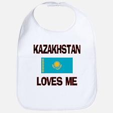 Kazakhstan Loves Me Bib